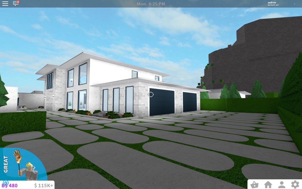 Welcometobloxburg hashtag on twitter for Kitchen designs bloxburg