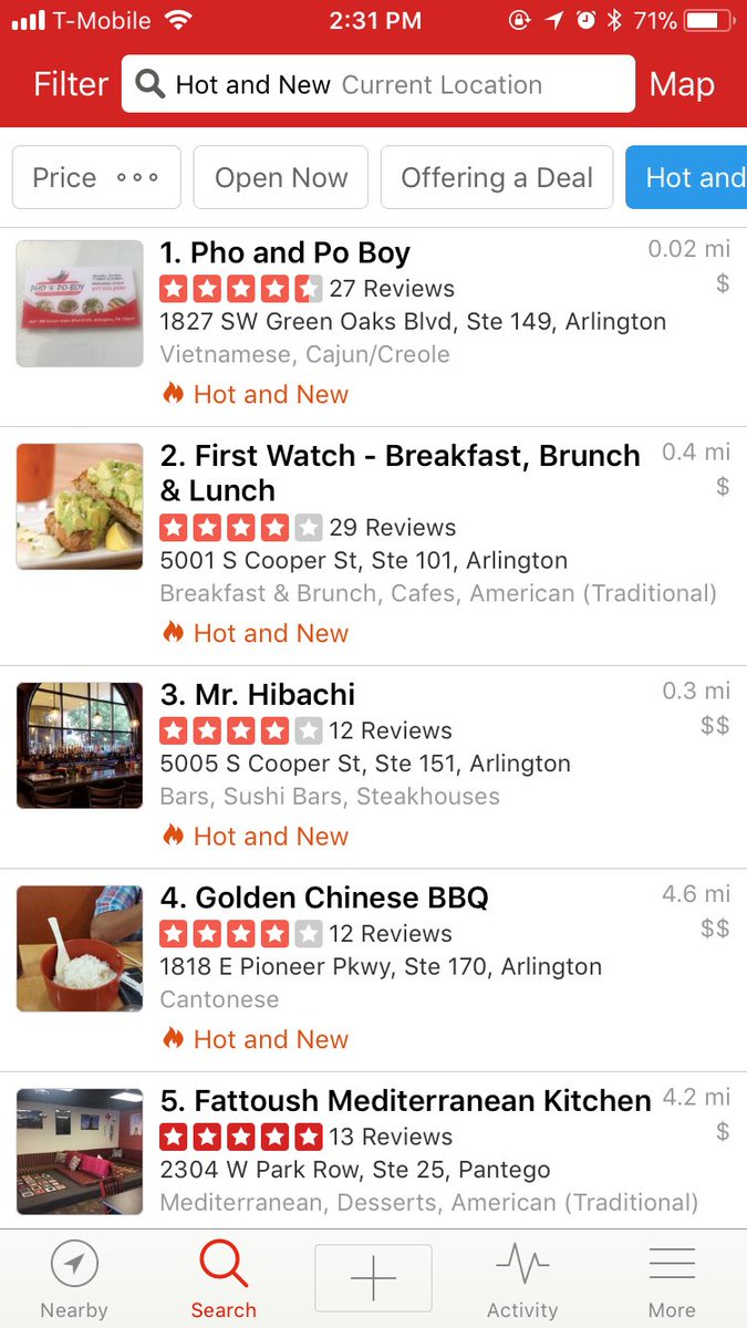 Thank you guys who came and supported us!! Thanks to y'all we're the #1 restauraunt that's HOT🔥&NEW✨ And we're #4 in our AREA!!!