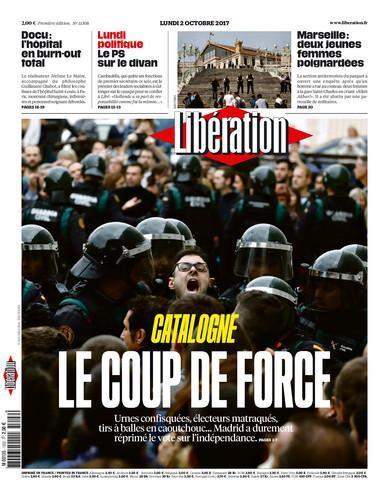 A lune de Libé demain: Catalogne le coup de force. https://t.co/gknAZr4iRz
