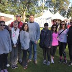 Team Haley Cremer Foundation and Ivie's Gang complete yet another Making Strides Against Breast Cancer walk!