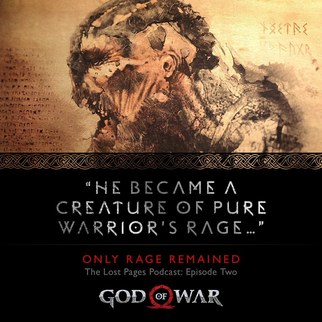 Santa Monica Studio GodofWar On Twitter ICYMI The Second LostPages Of Norse Myth Podcast Is Now Live Hear Origin Story Draugr