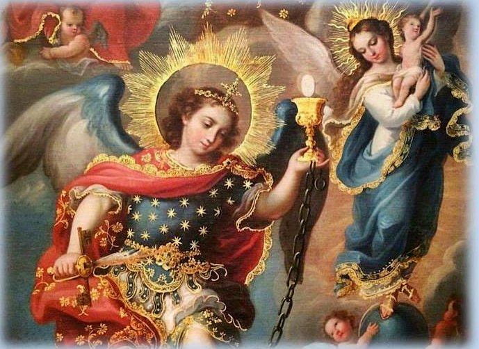 '¡Oh Reina de los Ángeles envía a San Miguel y sus ángeles a defendernos! https://t.co/uzJKeuHn6i'