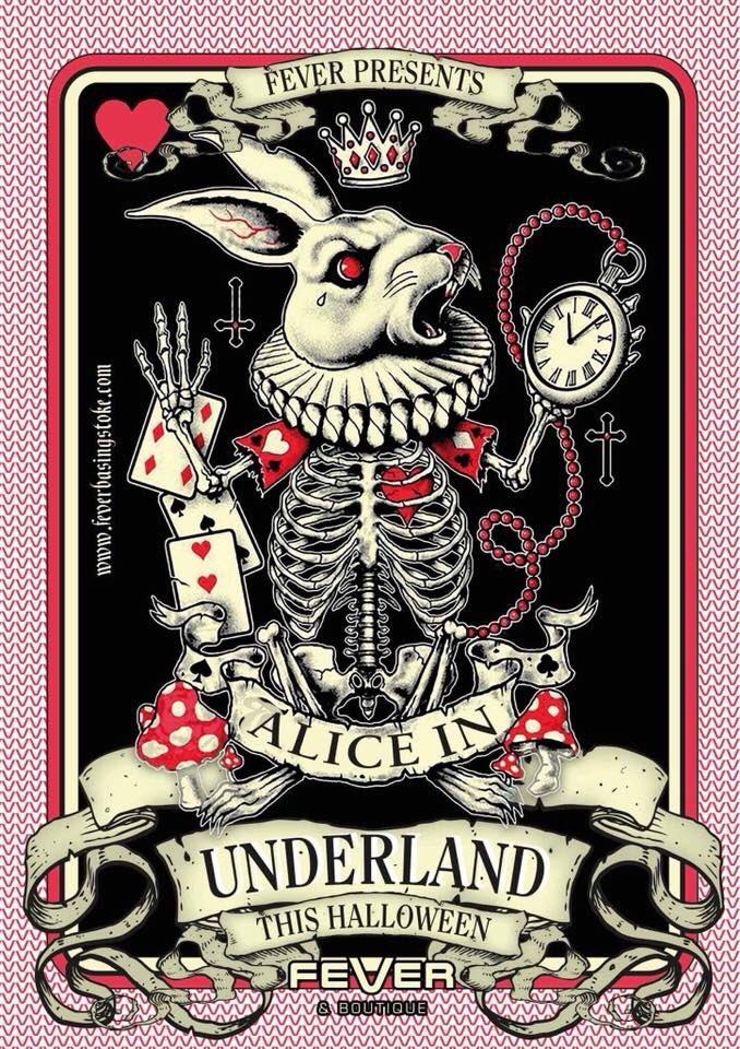 Feverbasingstoke On Twitter This Halloween We Present Alice In