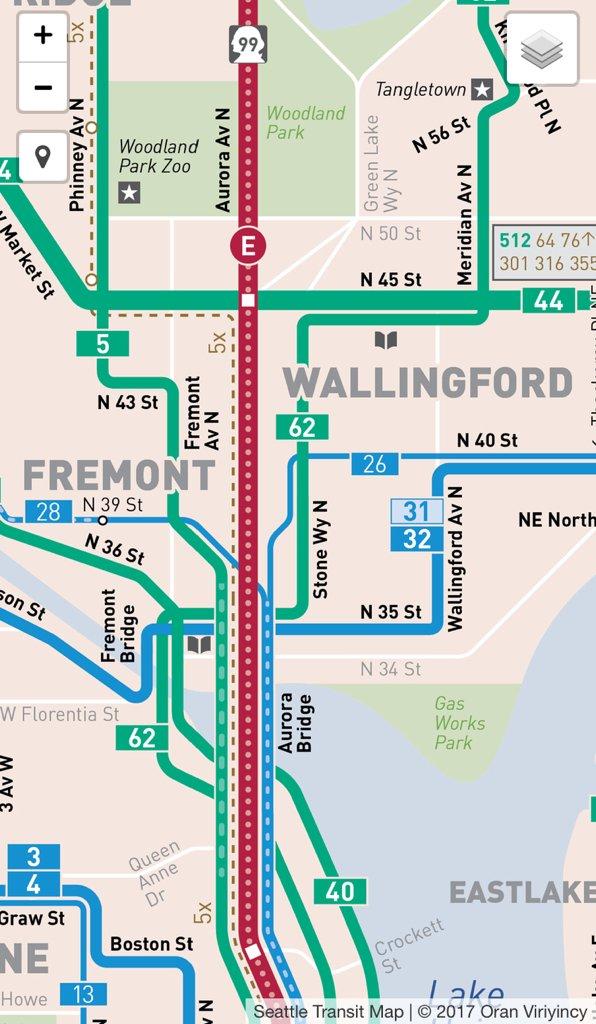 Seattle Transit Map SeaTransitMap Twitter
