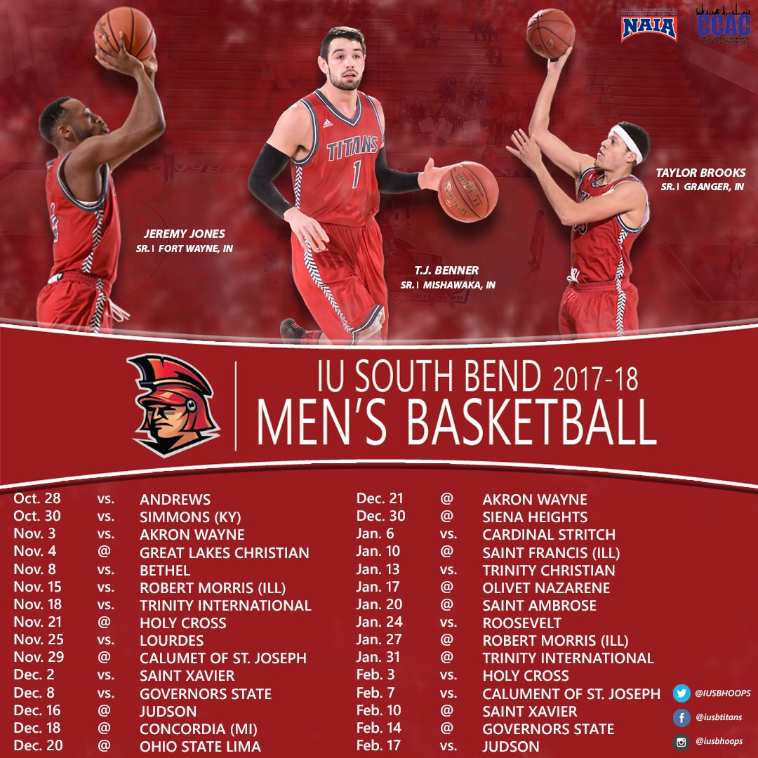 "iusb mens basketball on twitter: ""2017-18 indiana university south"