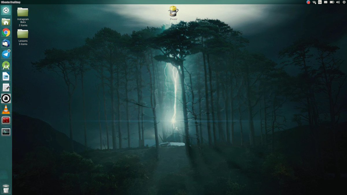 "alireza m. ahmadi on twitter: ""my new #wallpaper on #ububtu #desktop"