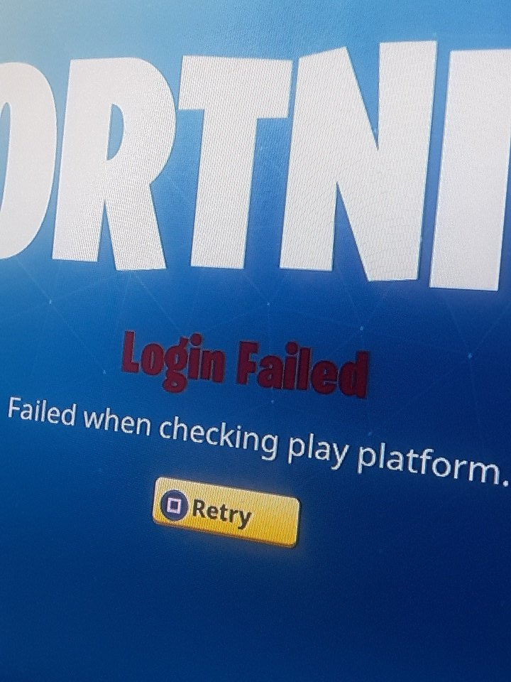Unable To Connect To Fortnite Servers Pc