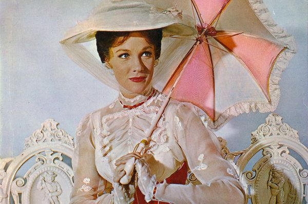Happy birthday to the QUEEN  (not like the royal family queen, but like Beyonce queen), Julie Andrews!