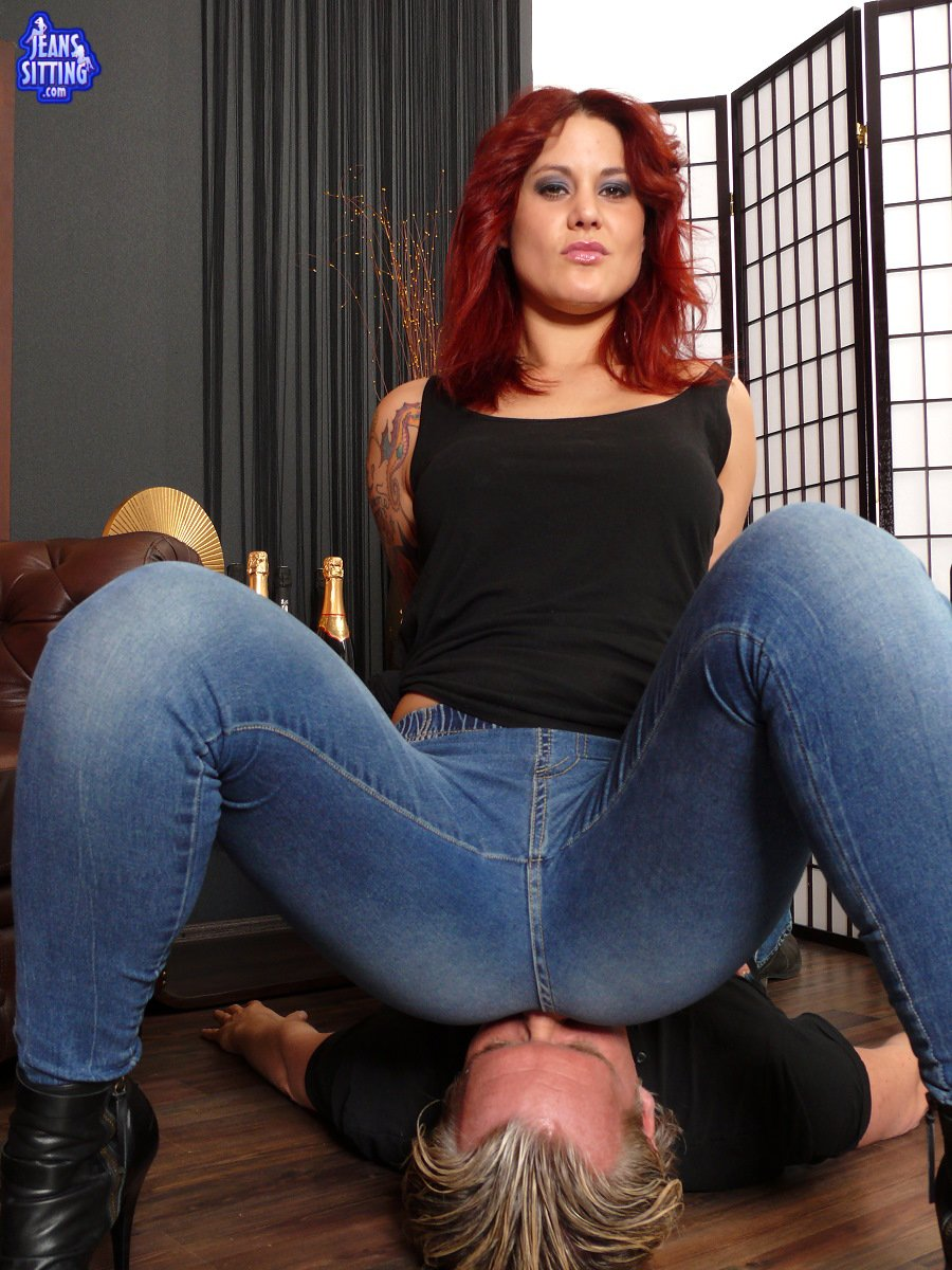 nice redhead slut gives blowjob and getting a dick think, that you