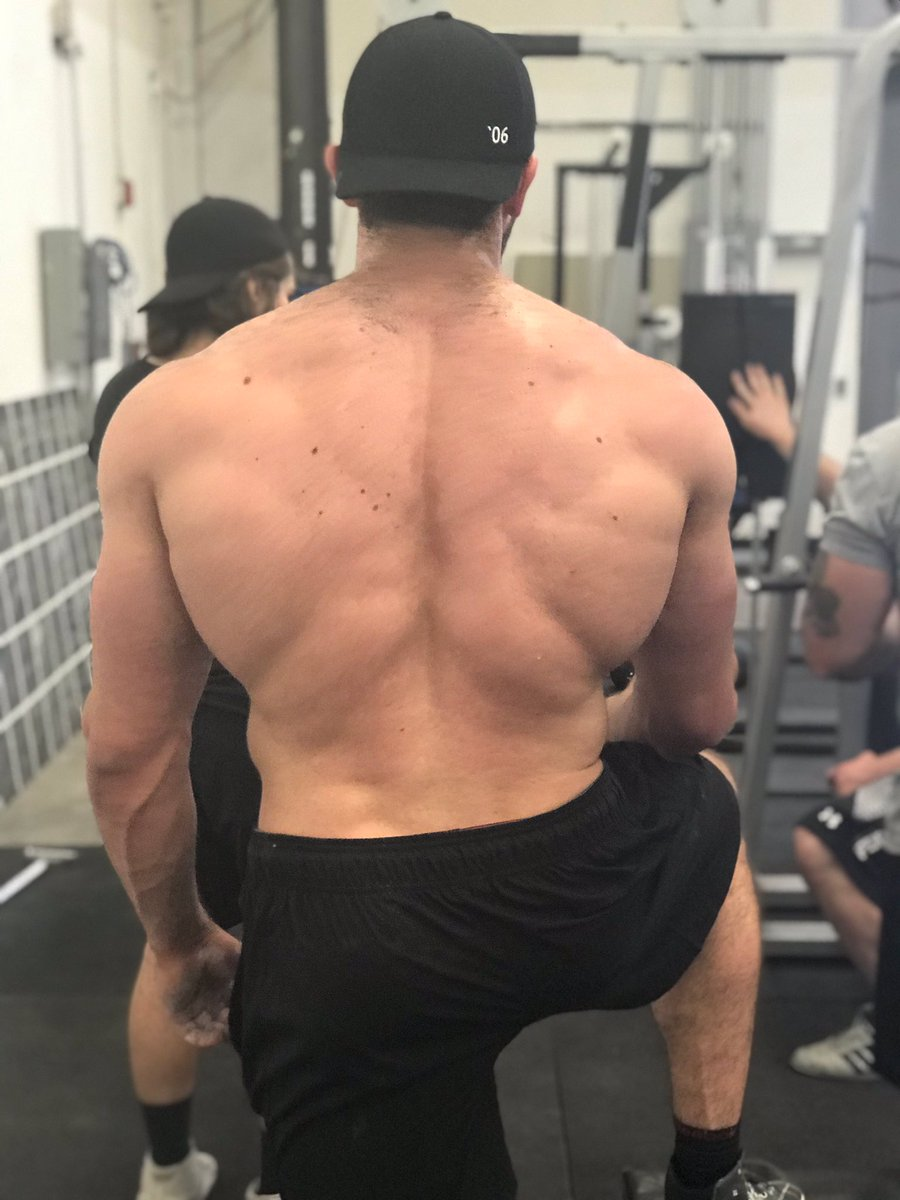 Mark Bell On Twitter Having Big Muscles In Your Back Is Apparently