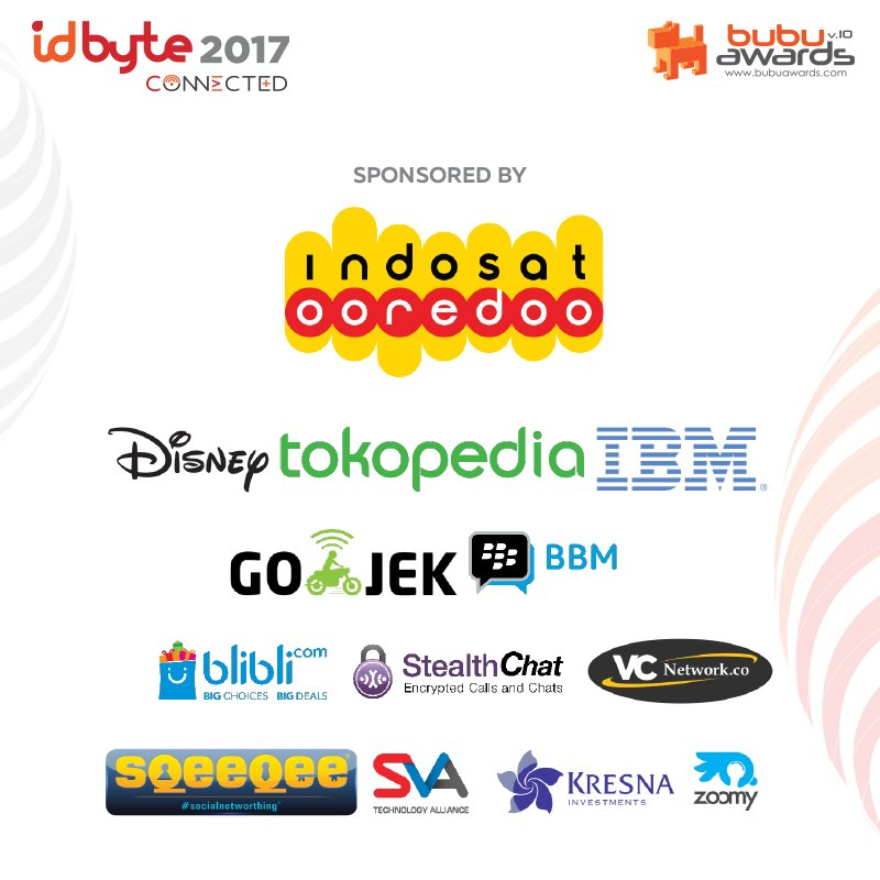 We would like to thanks our sponsors and partners for supporting this fabulous event #IDByte2017. <br>http://pic.twitter.com/aIcSHKoneo