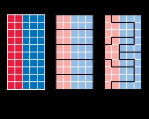 @chiku012 gerrymandering だね。アメリカではそのためおかしい形な選挙区が作られたてマイノリティ統制が続けるようになった。