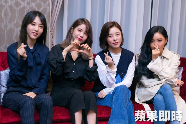 #MAMAMOO 嗨與記者合唱 學「hen棒」立刻活用  @RBW_MAMAMOO #moomoo #마마무 #대만 #台湾 #Taiwan #台灣 #interview  →→https://t.co/9lsFAGVzKs https://t.co/PvEyR5IlrE