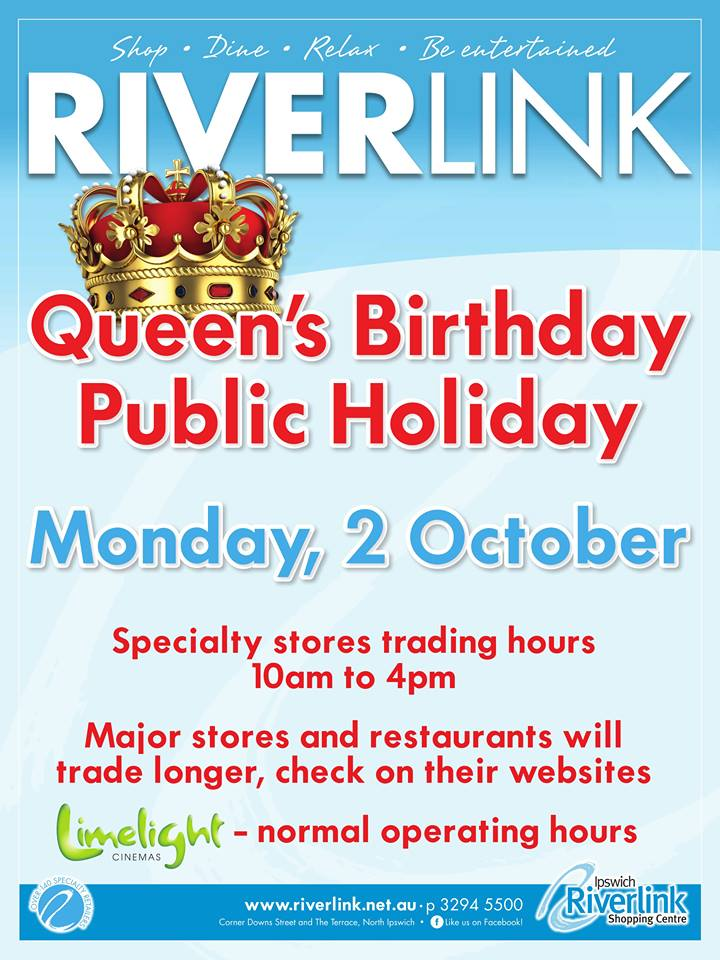 #Ipswich we are open today!    #ipswichqld #queensbirthday #publicholiday<br>http://pic.twitter.com/CWLETEbqfG