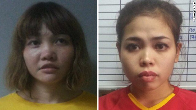 Two women accused of using a VX nerve agent to kill Kim Jong Un's half brother plead not guilty in a Malaysian court https://t.co/9Tha4MdR4z