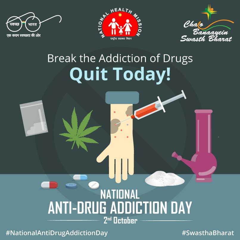 drug addiction in india