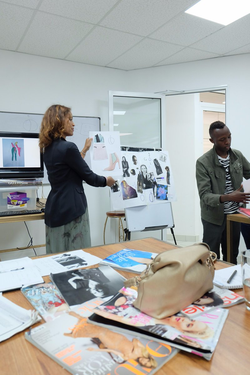 Germanembassynairobi On Twitter Most Important Is That Designers Should Not Be Taught Design Is About Passion And Feeling Waridi Fashionafric254 Fashion Workshop Https T Co Fdxg1pebkt