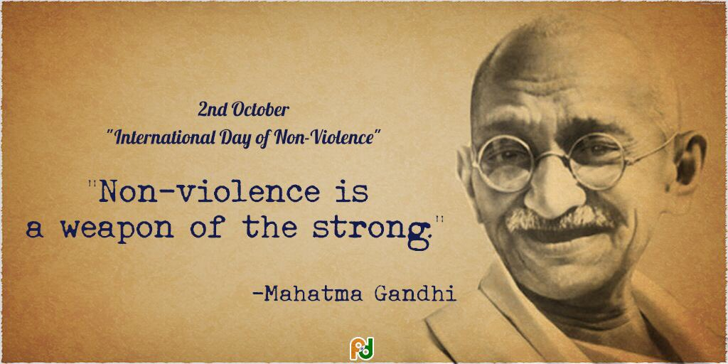 nuclear weapon and mahatma gandhi A virtual debate with gandhi about a selection from the writings of mahatma gandhi, edited by the indian manufacture and testing of nuclear weapons.