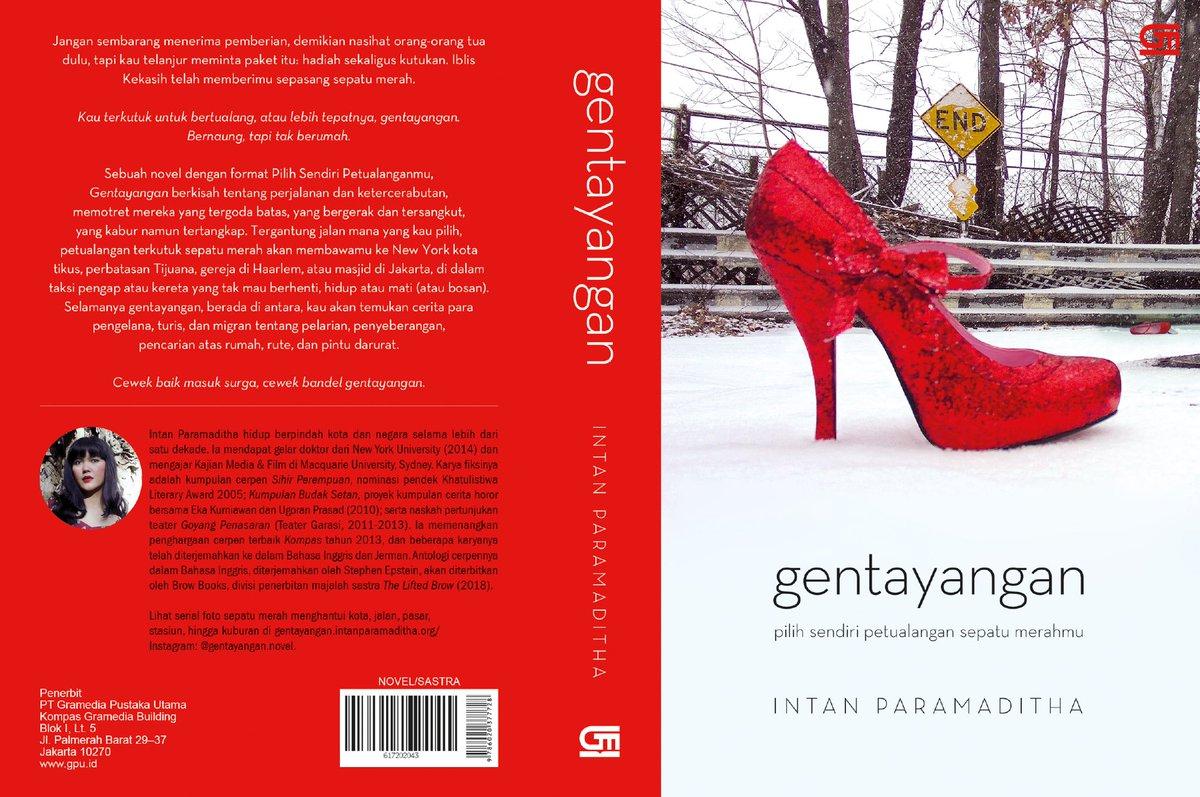 Cover novel Gentayangan | Sumber: Twitter