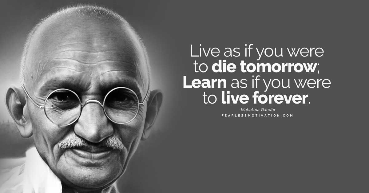 """Fearless Motivation On Twitter: """"""""Live As If You Were To"""