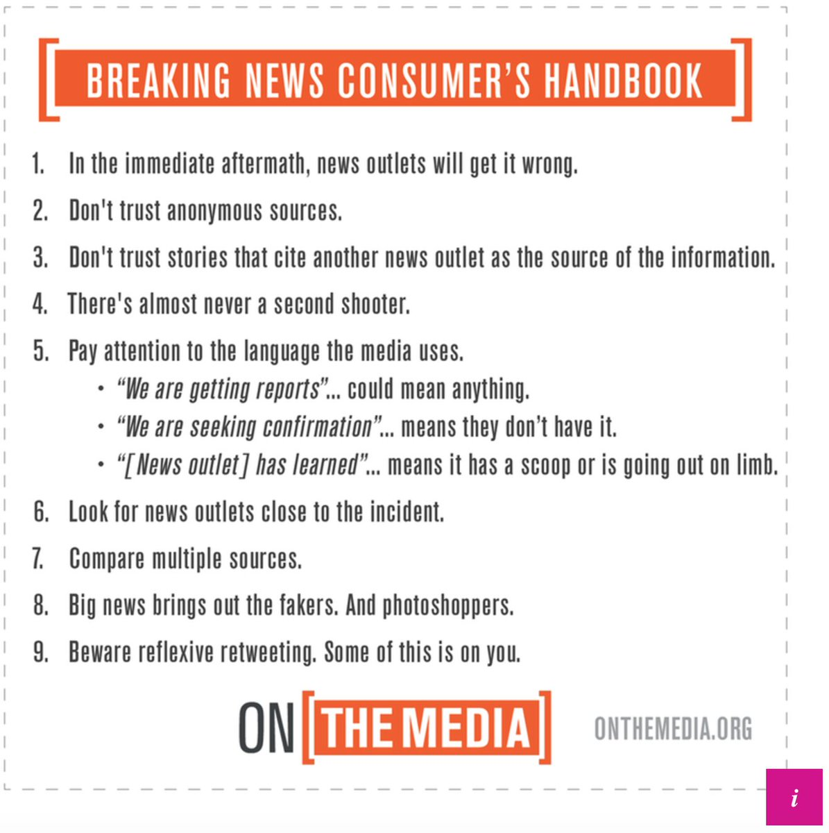 These tips are always useful to keep in mind. But boy, the reports out of Las Vegas are very concerning.