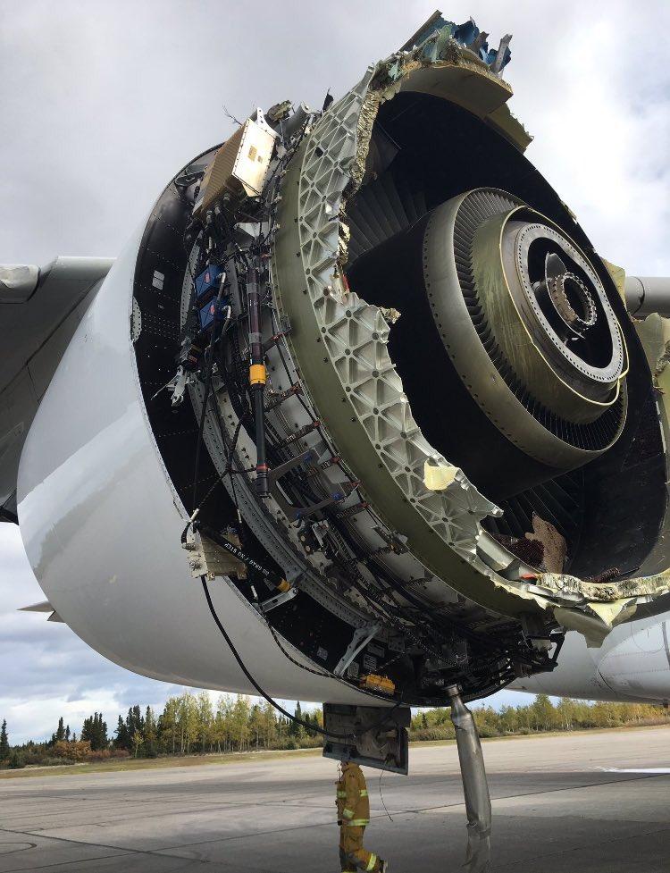AF66 Paris Los Angeles a380 perte de la soufflante en vol - Page 2 DLHg7mXXcAAHVZ1
