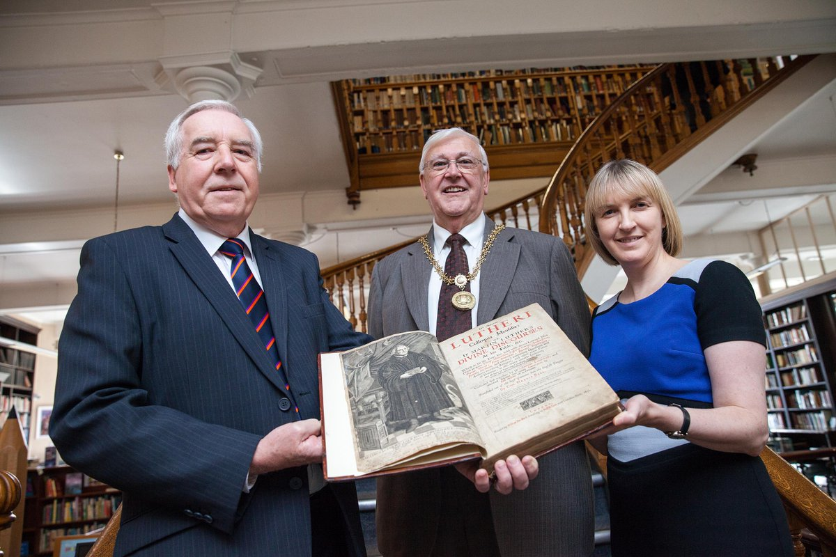 Luther exhibition launched at Linen Hall Library
