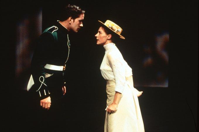Happy Birthday Matthew Macfadyen!  Seen here as Benedick in Much Ado About Nothing (1998)  (photo John Haynes)