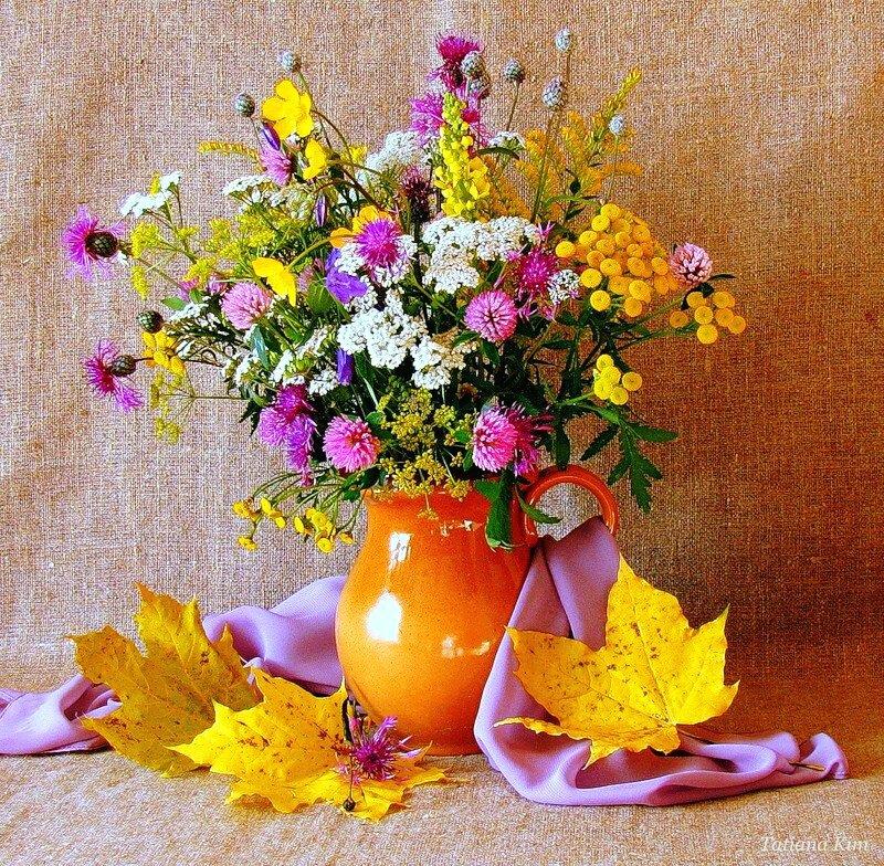 учетом картинка букет осенних цветов бураки