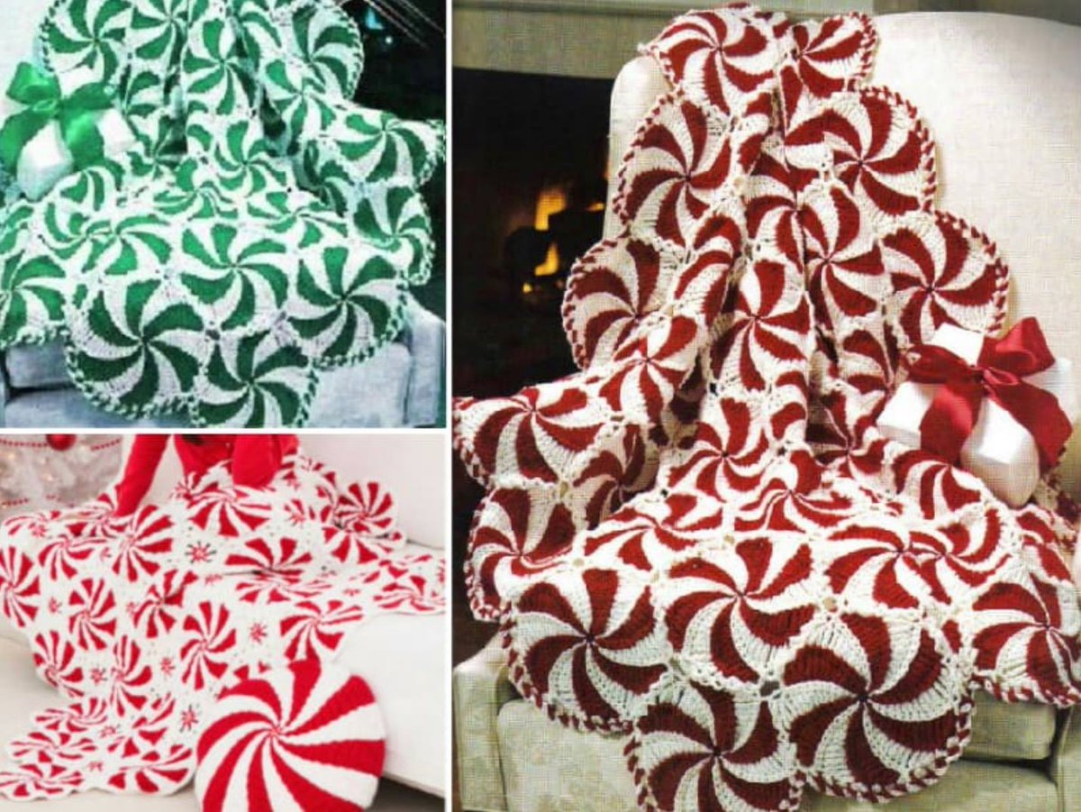 The Whoot On Twitter Love This Awesome Crochet Peppermint Swirl
