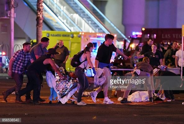UPDATE: Shooting suspect Stephen Paddock was said to have used long range rifle to shoot from the 32nd floor of Mandalay Bay into the crowd.