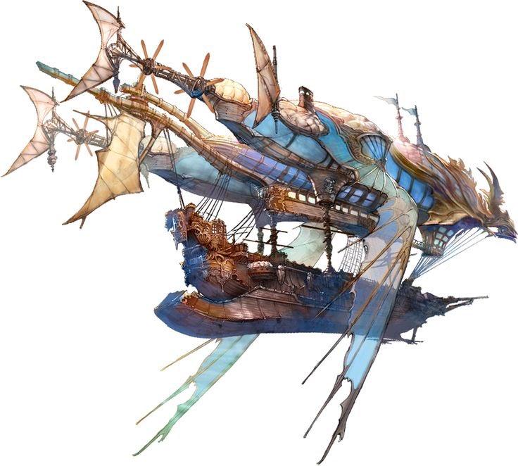 Fantasy Blimp Art