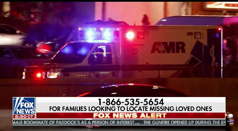 SHARE: For those looking to locate loved ones after Las Vegas shooting, call 1866-535-5654. @FoxNews @foxandfriends
