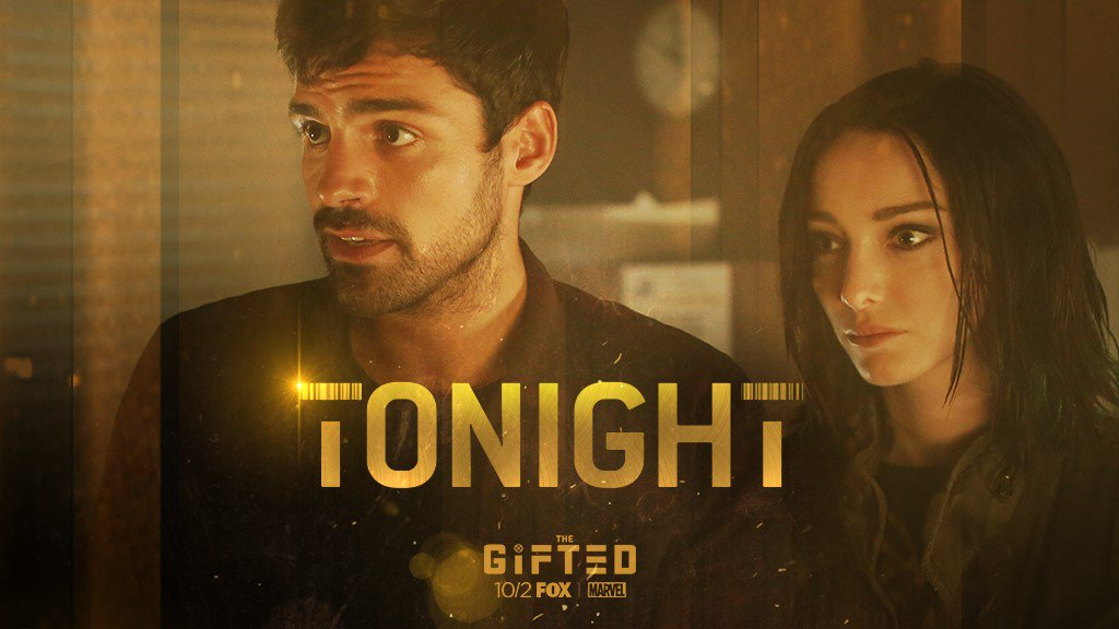 Tonight sees the arrival of @FOXTV's hugely anticipated series #TheGifted- starring @seanjteale as Eclipse!