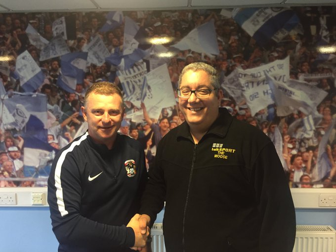 Happy 48th Birthday to Coventry manager and former Man U striker Mark Robins, have a great day my friend