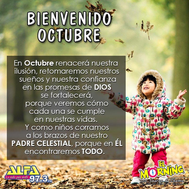 El Morning On Twitter Bienvenido Octubre
