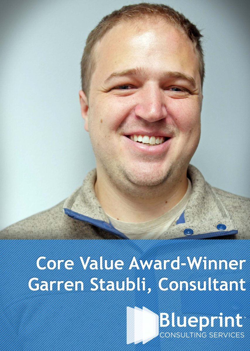 Blueprint consulting on twitter consultant garren staubli is our blueprint consulting on twitter consultant garren staubli is our latest core value award winner congrats and keep up the good work malvernweather Gallery