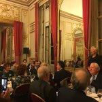 Catherine Morin-Desailly, invitée d'honneur du Club Audiovisuel de Paris présente les enjeux de l'audiovisuel face aux GAFA @clubavparis