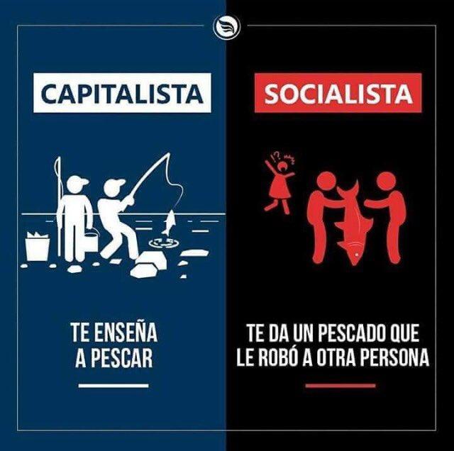 "Mónica Corrales Malvic on Twitter: ""Capitalismo vs Socialismo...… """