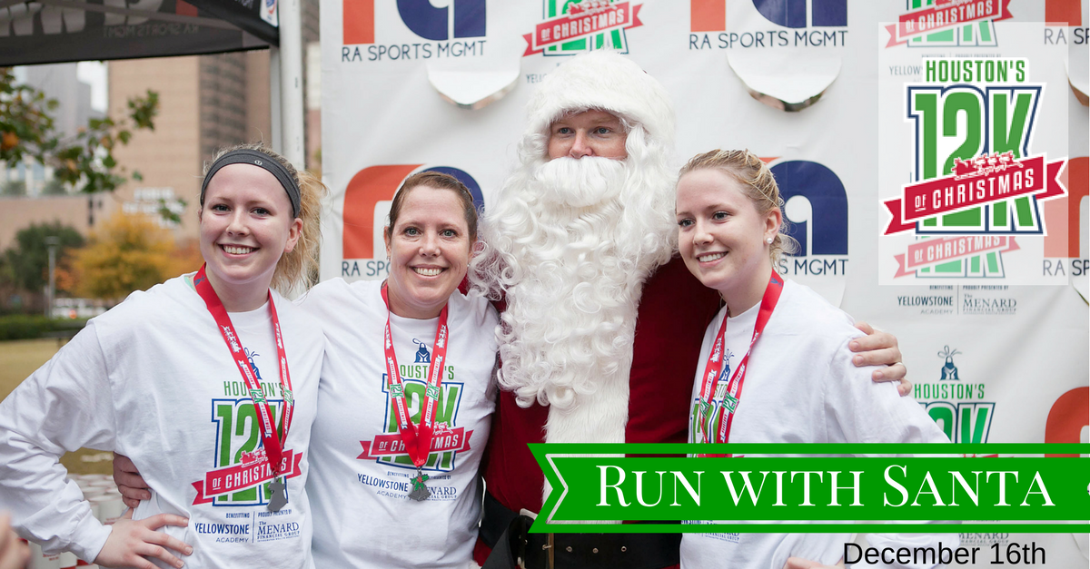 houstons 12k on twitter looking for a houston christmas fun run houstons 12k of christmas even santa is ready httpstco3eqdxp4jqt running - 12k Of Christmas