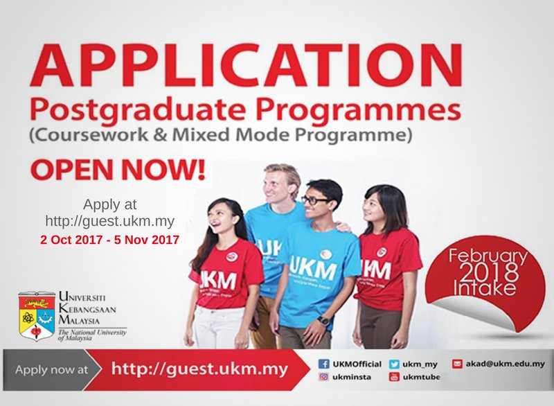 program master coursework ukm