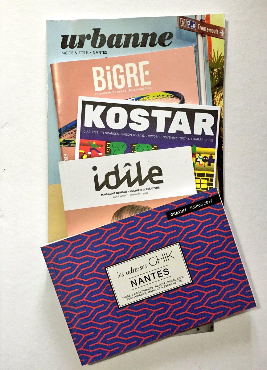 #sondage 1/2 : Les magazines #lifestyle #gratuits de #Nantes. #presse #actualité #tendance #mode #shopping<br>http://pic.twitter.com/TePfVfizHM
