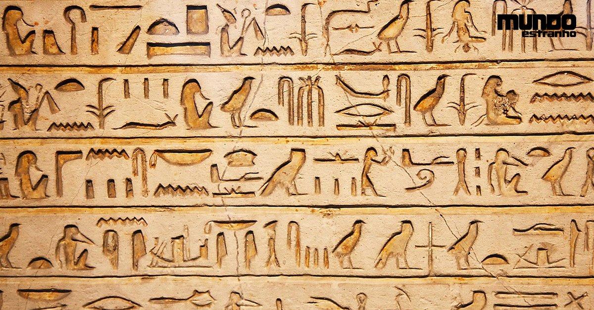 O que significavam os hieroglifos do Egito antigo? https://t.co/Mm84qZ68El