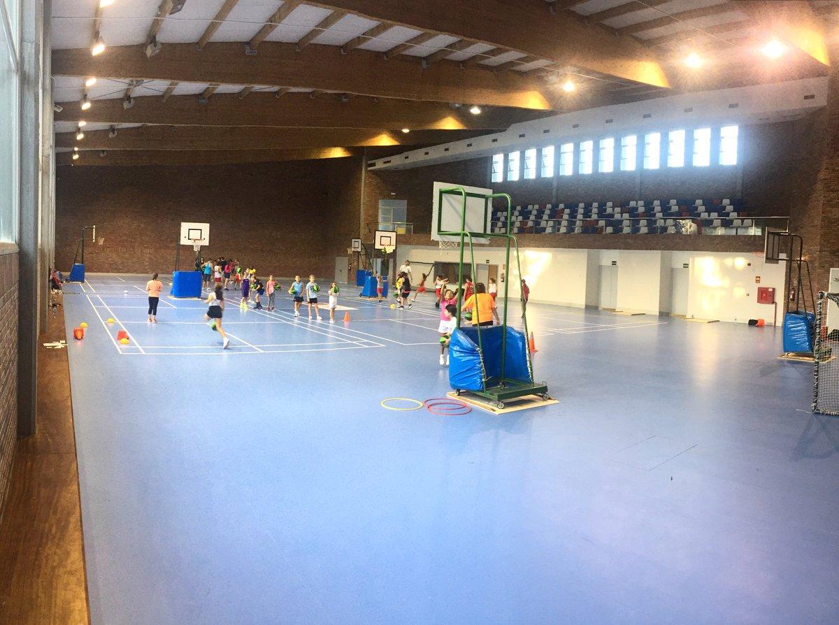 Estrenando instalación de entreno para La Academia. ETEA #minibasket #academia #celta #escuelas
