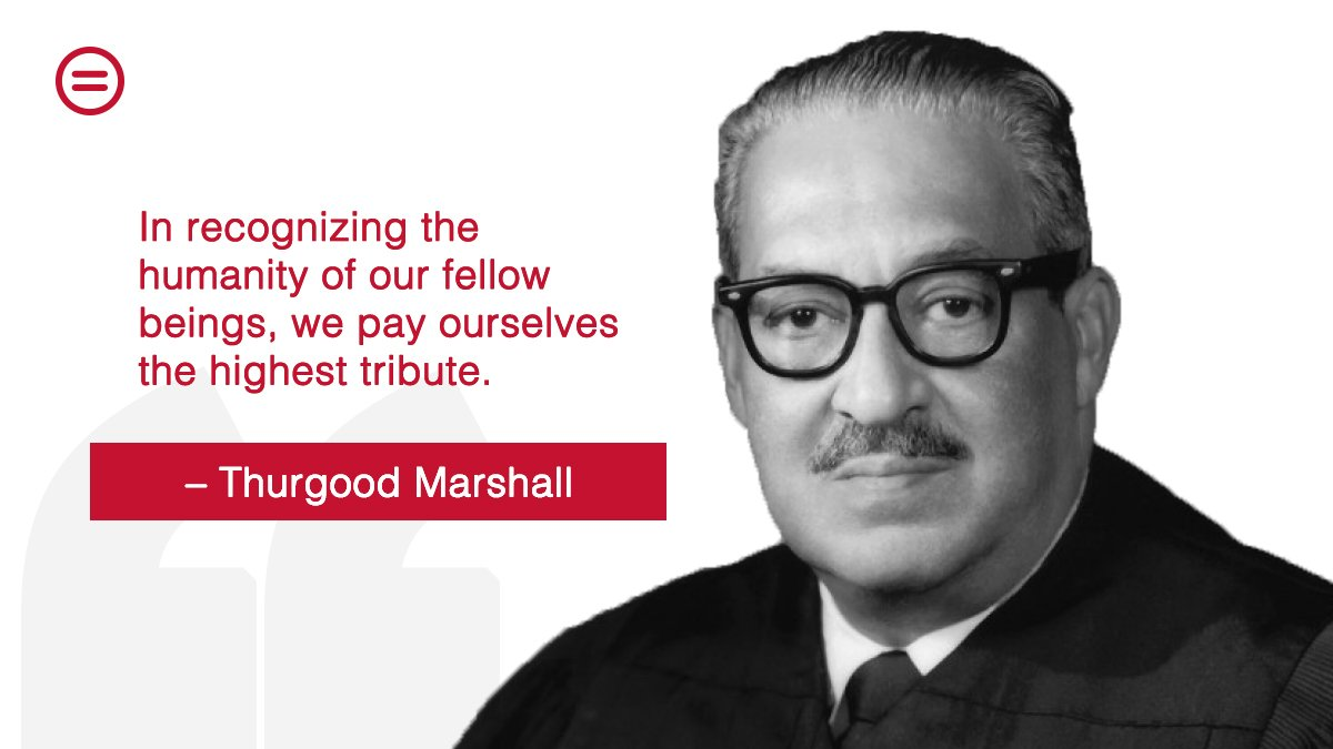 50 years ago today, Thurgood Marshall became the first Black Supreme Court Justice.