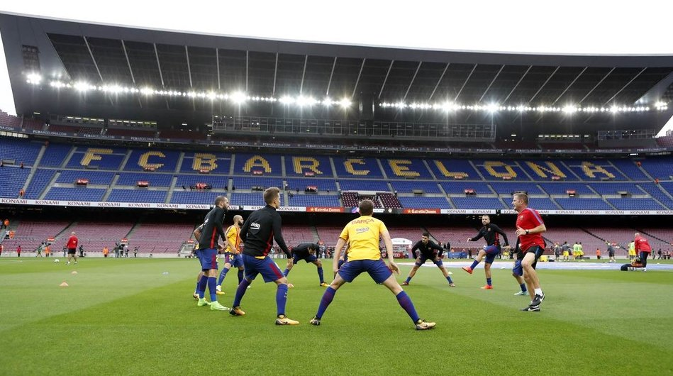 ��  #BarçaLasPalmas behind closed doors in pictures ���� https://t.co/qvNfWMwHvg