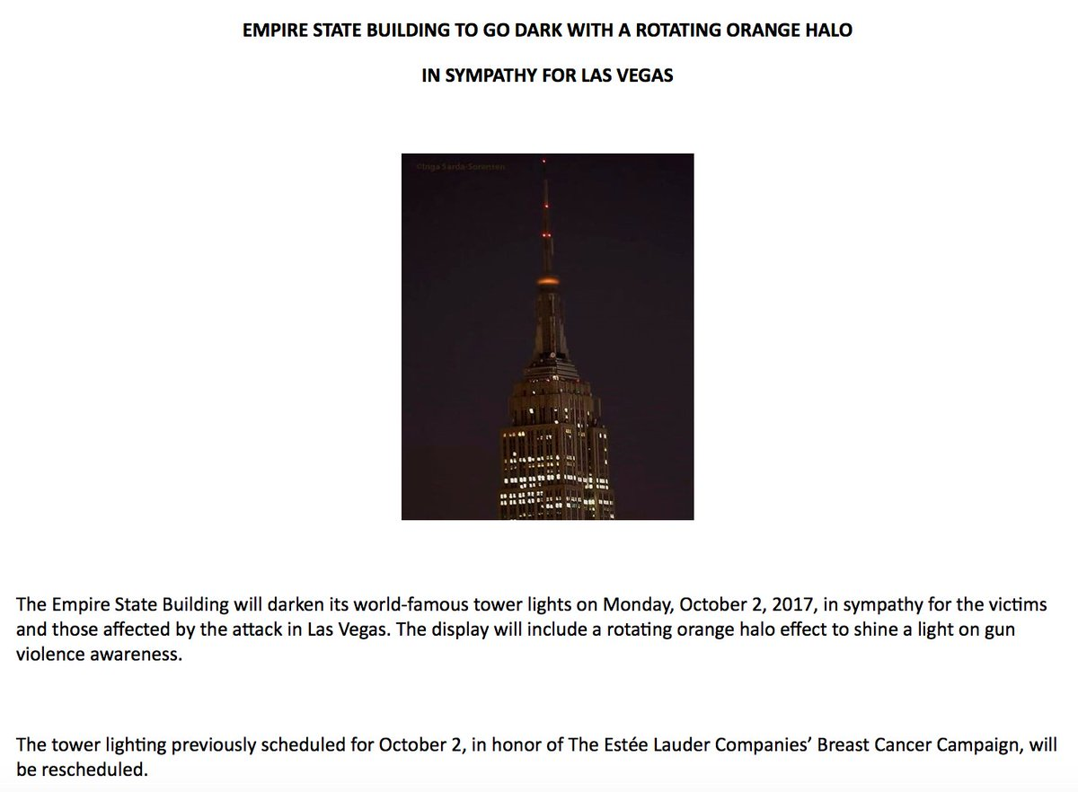 "36f93471325c The Empire State Building will go dark tonight ""in sympathy for the victims  and those"