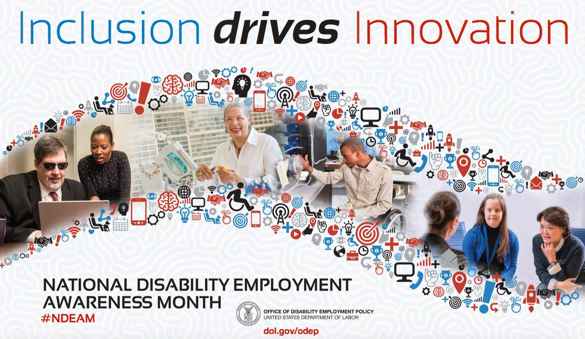 October is National Disability Empolyment Awareness Month