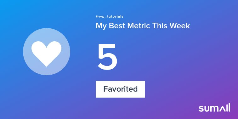 test Twitter Media - My week on Twitter 🎉: 5 Favorited, 1 Retweet, 779 Retweet Reach, 6 Tweets. See yours with https://t.co/iUEhFQI5KM https://t.co/TuiCGhvfRC