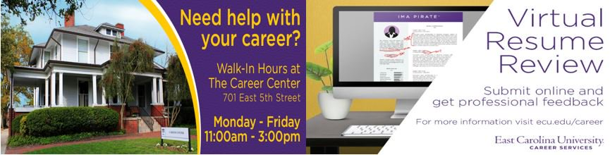 ecu career services on twitter get your resume reviewed in time